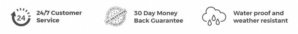 GPS tracking device with 24x7 customer service and 30 days money back guarantee