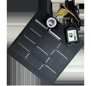 Solar Power Hardwire fleet tracker