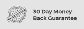 30 day money back gaurantee