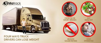 Four Ways Truck Drivers Can Lose Weight