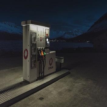 warning notifications when fuel levels drop