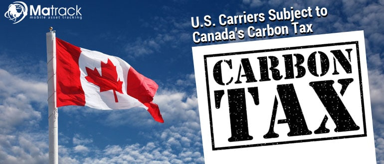 US carriers subject to canada's carbon tax