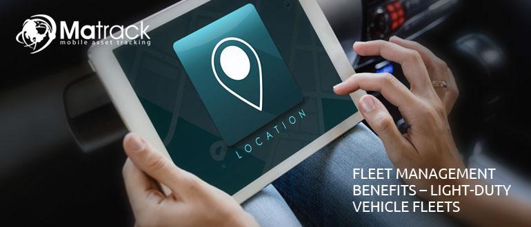 Fleet Management Benefits : Light-duty Vehicle Fleets