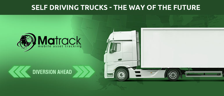 Self Driving Trucks-The Way Of The Future