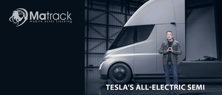 Tesla's All-Electric Semi