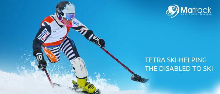 Tetra Ski-Helping The Disabled To Ski