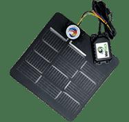 Solar waterproof hardwire asset tracker