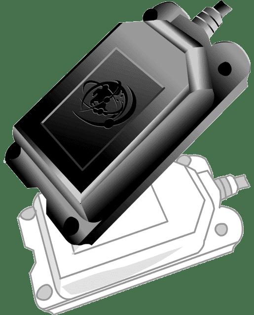MA-HW Silver Weatherproof Hardwired Tracker