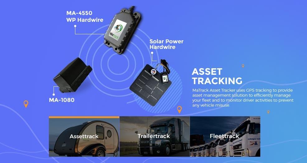 GPS Asset tracking slider image
