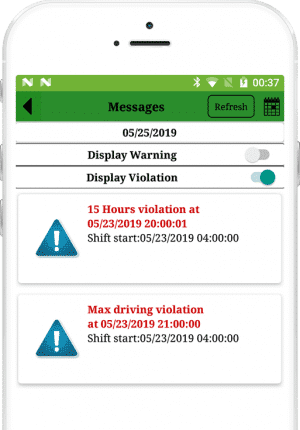 ELD Device features
