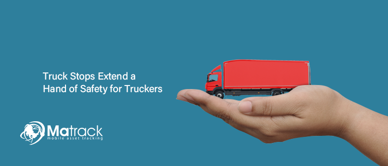 Blog Banner_Truck stops extend a hand